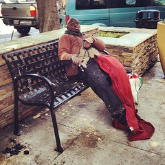 Pretty sure he was blowin' me a kiss #homeless #losangeles #hollywood #kiss (xian pitt) Tags: square squareformat rise iphoneography instagramapp uploaded:by=instagram