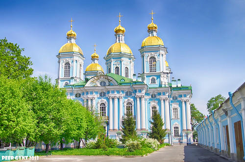 St. Nicholas Naval Cathedral. Saint-Petersburg. Никольский Морской Собор. Санкт-Петербург. ©  Peer.Gynt