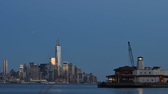bluish downtown new york city before nightfall (16:9 widescreen copy) ---------- viewed 336x (norlandcruz74) Tags: new york city nyc blue panorama usa ny colors composition america us nikon downtown manhattan pano nj panoramic cruz jersey filipino framing dslr pinoy weehawken filam norland d5100 norlandcruz74