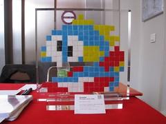 Alias of LDN_82 (tofz4u) Tags: streetart paris london expo mosaic auction spaceinvader spaceinvaders exhibition alias invader 2007 mosaque artderue 75013 venteauxenchres ldn082 ldn82