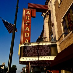 Killer Queen - Arcada - Saint Charles IL (Meridith112) Tags: killerqueen queen arcadatheater arcada theater theatre saintcharles il illinois kanecounty neonsign neonsigns sign signs rock rockandroll music iphone6plus july 2016 summer wewillwewillrockyou