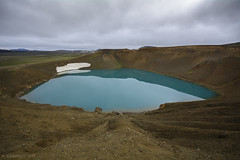 Viti (Mauro Esains) Tags: islandia paisajes agua cielo nubes aire libre viti laguna crater infierno volcan volcano hell iceland landscapes water heaven clouds air free lagoon open
