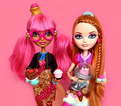 I want that red velvet, I want that sugar sweet (honeysuckle jasmine) Tags: mattel ever after high dolls holly ohair princess rapunzel ginger breadhouse hansel gretel fairytale doll