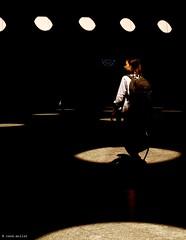 circumstances (Ren Mollet) Tags: zrich zuiko airport street streetphotography shadow circle light woman renmollet