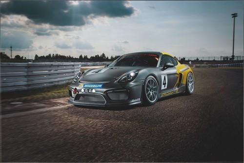 Porsche Cayman GT4 Clubsport от Manthey Racing
