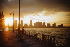 September. (Juliet everywhere) Tags: nyc newyorkcity newyork skyphotography clouds sunset light people peopleoftheworld newyorker sonyimages sonyphotography sonynex sonyalpha m42 28mm wow night fisherman sunsetlight
