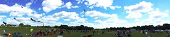 panorama of kite fest 2015