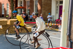Highwheel Race (8-13-16)-180 (nickatkins) Tags: bike bikes biker bikers bikerace bikeraces bikeracing cycling cyclist race bicycle bicycling bicyclist highwheel old oldtime frederick historic
