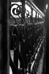 City Museum St. Louis (Michelle Calvert) Tags: gate blackandwhite blackandwhitephoto coolfences stlouis citymuseumstlouis citymuseum fences
