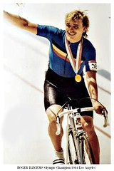 1984 OLYMPIC GAMES Roger Ilegems (Sallanches 1964) Tags: olympicgames 1984 losangeles goldmedal rogerilegems belgiancyclists trackcycling piste velodrome