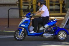 ICE BEAR Trike (swong95765) Tags: vehicle trike icebear motorized transportation scooter motorscooter bike motorcycle street guy man