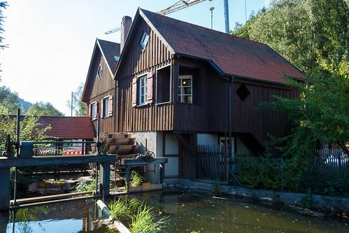 "Le musée ""Schüttesäge"" à Schiltach"