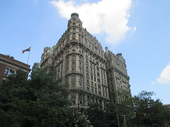Ansonia Building - Former Residence of Pogo Cartoonist Walt Kelly 3514 (Brechtbug) Tags: the ansonia apartment building now condo upper west side new york city 2109 broadway between 73rd 74th streets built 1899 opened 1904 beaux arts architectural style mansard roof architect paul e m duboy featured 1992 film single white female bridget fonda jennifer jason leigh home pogo cartoonist disney animator walt kelly mobster arnold rothstein athletes jack dempsey babe ruth 8202016 nyc 2016