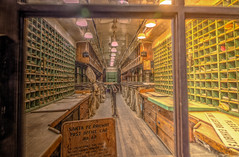 Santa Fe Post Office Car (Michael F. Nyiri) Tags: perriscalifornia southerncalifornia riversidecounty orangeempirerailwaymuseum trains railroad