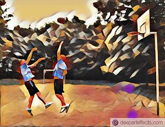 IMG-PHOTO-ART--1412910926 (micha81sch) Tags: basketball deutschland oneonone 1on1 spiel nba