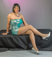 Whole Lotta Leg! (kaceycd) Tags: crossdress tg tgirl lycra spandex minidress tubedress platino cleancut 15denier pantyhose pumps highheels stilettopumps stilettoheels sexypumps stilettos s