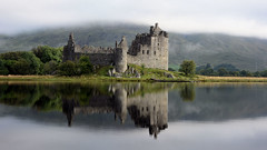 Kilchurn castle (andrewmckie) Tags: kilchurncastle lochawe argyle scotland scottishscenery scottishcastles scottish reflections castles outdoor