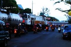 Kami disini kalian disana (Edy Widiyanto) Tags: kereta api bbm minyak pertamina madiun jalan yos sudarso