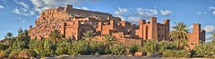 Ait Ben Haddou, Morocco (ott.geoffrey) Tags: aitbenhaddou morocco mud castle sunset light shadow fortress