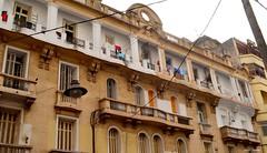 Faade (latifalaamri) Tags: architecture artdco faade immeuble ancien casablanca morocco balcons fentres