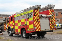 4PF-Persons Reported, Wensley Road, Reading - 10.8.2016 (skippys 999 site) Tags: fire rescue emergency 999 rbfrs royalberkshirefirerescue