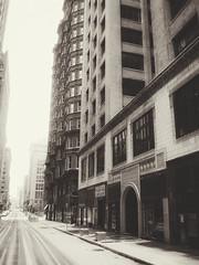 Down a St. Louis Street (eduardo.rodriguez87) Tags: ifttt 500px black white building city cityscape cityscapes rated showcase sky st louis winter bw canon skyscraper snapseed snow street urban blackandwhite stlouis