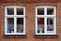 Fenster (meine.augenblicke) Tags: rnne bornholm dnemark 2014 kameranikond5200 fenster windows gebude buildings zwilling doppelt august