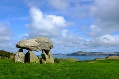 Carreg Samson ([Scott]) Tags: wales coast dolmen burial chamber stones fuji x100s pembrokeshire