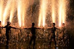 -- (m-miki) Tags: nikon d610 japan               shrine fireworks festival rain summer night astounding image