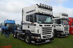 Scania R440 'L.A. Green Haulage' reg S20 LAG (erfmike51) Tags: scaniar440 artic truck lorry lagreenhaulage swedefest2016