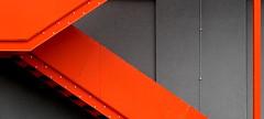 up (EOS1DsIII) Tags: eos1dsiii deutschland germany frankfurt orange stairs treppen wall mauer grey grau