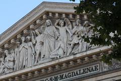 Christ as Judge (Lawrence OP) Tags: lamadeleine paris jesuschrist lastjudgement stmarymagdalene angels damned elect saints pediment sculpture