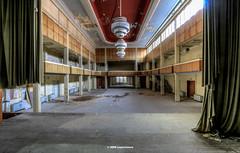the ballroom (Michis Bilder) Tags: hdr hdri lostplace urbex urbanexplorer ballroom hdrexperience