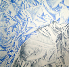 Comtesse d' Haussonville (DianaSalazar) Tags: ingres dianitasalazart fabrics telas dibujo drawing contemporarydrawing contemporaryart art arte monocromatico