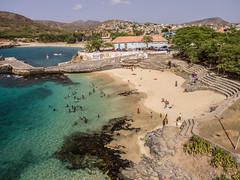 Tarrafal Beach by Drone (ReinierVanOorsouw) Tags: reiniervanoorsouw reizen travel travelphotography sky aerial droneshot drone dronephotography djiphantom dji flying bydrone fromthesky flyingphotography luchtfotografie  travelling  capo verde capoverde caboverde capeverde  yeilburunadalar island kaapverdie travels travelstoke sids iwrm ocean water