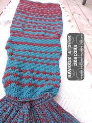 Mermaidtail Lapghan 04c (zreekee) Tags: sparkledoomdesigns crochet canada mermaidtail lapghan saskatchewan