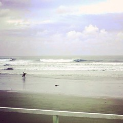 Dawn surf (jamesball1993) Tags: ocean beach sunrise dawn surf waves surfer surfing oceangrove uploaded:by=flickrmobile flickriosapp:filter=nofilter