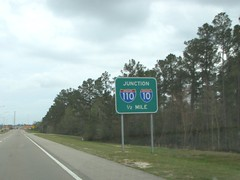 Junction 110, 10 (US 71) Tags: mississippi highways roadsigns highwaysigns i110 interstate110