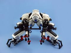 Kani  (curtydc) Tags: brick robot spider tank lego think ghost shell crab creation  mecha mech fuchikoma kani moc multiped tachikoma uchikoma