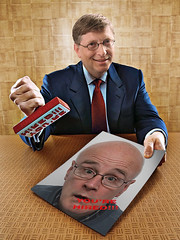 You're Hired (Leo Reynolds) Tags: bill gates rubber stamp microsoft billgates rubberstamp 0sec hpexif webthing funnywow xleol30x