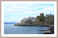 Dunollie Castle (Mac ind Óg) Tags: scotland spring framed castle dunollie oban bay landscape dùnollaigh ruin holiday argyll