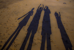 Lanzarote (collybrennan) Tags: family shadow holiday silhouette canon fun happy cool interesting spain sand sandy memories lanzarote special memory moment potrait vaction