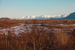 040413 - Hatcher Pass from Knik River Floodplain (Nathan A) Tags: morning mountains alaska river landscape outdoors spring glenn palmer glacier valley peaks range knik chugach floodplain oldglenn