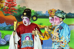 Chinese Opera (Pic_Joy) Tags: costume opera clown chinese culture chou tradition chineseopera