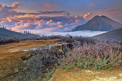 Ijen Landscape (Helminadia Ranford(New York)) Tags: travel nature indonesia landscape volcano nationalpark ijen