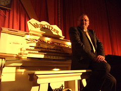 Paul Gregson, organist at the Royalty Cinema, Bowness on Windermere, Cumbria. (Paul Gregson) Tags: cinema organ cumbria windermere wurlitzer bowness bownessonwindermere organist organconsole wurlitzerorgan cinemaorgan royaltycinema paulgregson furnesstheatreorganproject