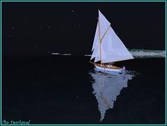 On file dans la nuit ... (Tim Deschanel) Tags: life sea mer john boat tim magic sl seal second bateau sealing deschanel croisire kelty joly keltyana