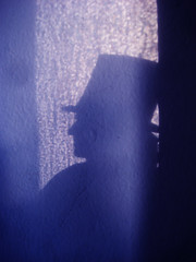 Bela Lugosi as Count Dracula Blue Wall Shadow 7580 (Brechtbug) Tags: new york city fiction shadow green dusty film halloween its monster wall comics movie toy toys book