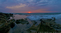 Kailua Sunrise Surge (j . f o o j) Tags: sunrise hawaii nikon edited fisheye kailua d300 105mmf28nikkor mokoleaisland jfooj dacrazies