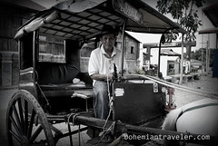 calesa holga Vigan Philippines (BohemianTraveler) Tags: old city horse heritage architecture island town site asia pacific district philippines colonial chinese unesco mexican spanish filipino sur vigan ilocos kalesa luzon calesa mestizo